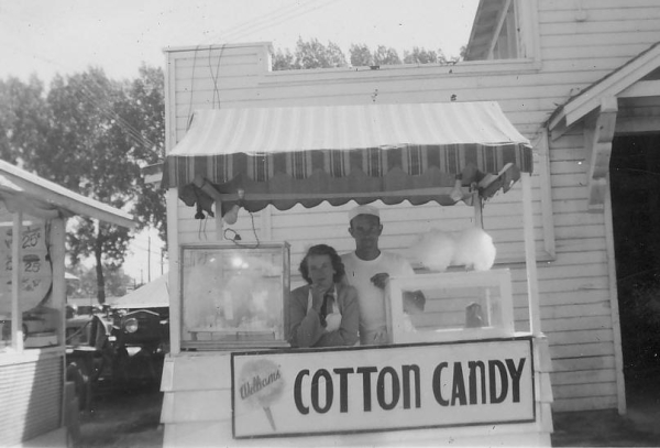 12 days of christmas - national cotton candy day